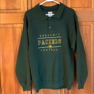 VINTAGE Packers crew neck sweater